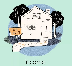 Rent income sm
