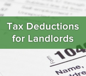 Tax deductions landlords